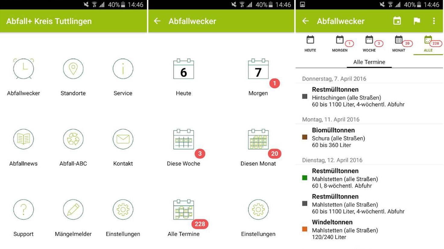 Abfall+ App