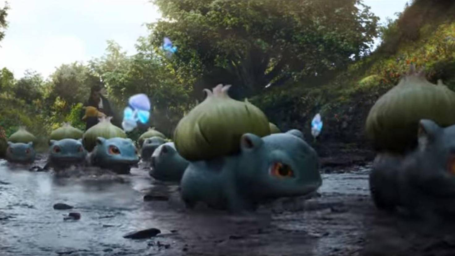 Bisasam in Pokémon Detective Pikachu