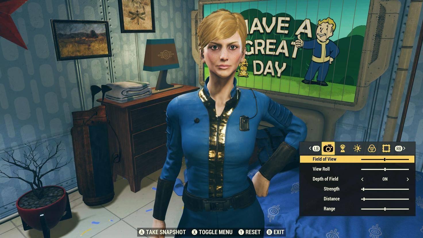 Mit dem Charakter-Editor kannst Du Dir wunderbar hässliche Figuren bauen (womit natürlich nicht diese Lady, gemeint ist).