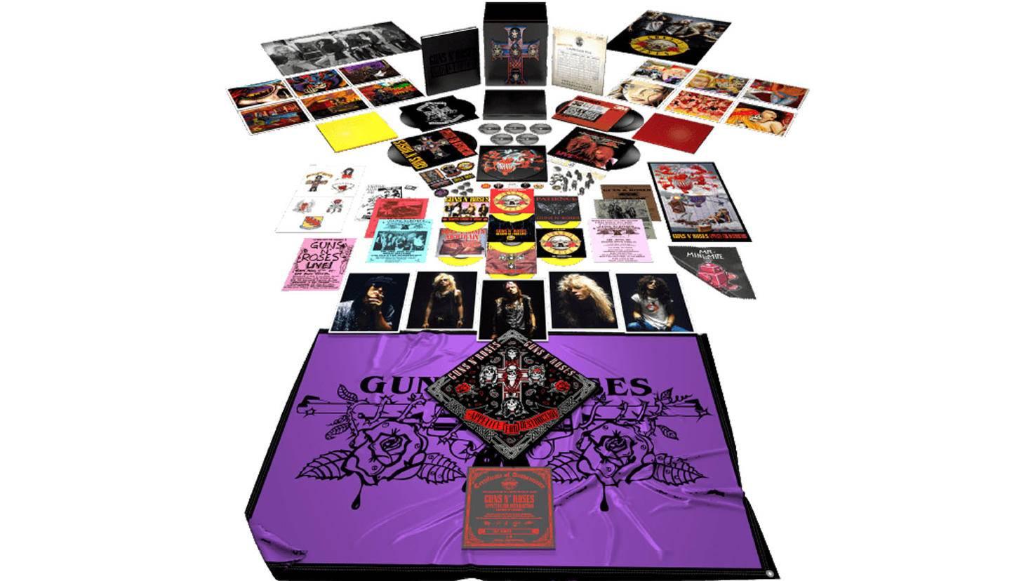 Guns-N-Roses Appetite for Destruction limitierte Locked-N-Loaded Vinyl-Box