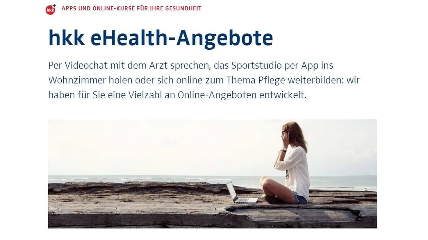HKK eHealth Angebote-Krankenkasse App-HKK