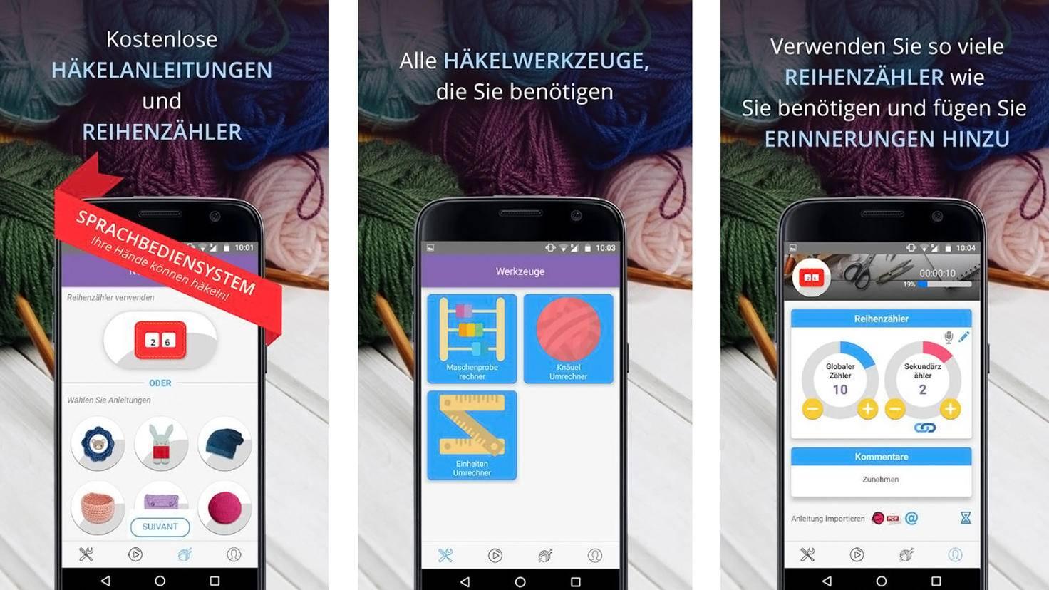 Häkel Genie-Google Play Store-Annapurnapp Technologies