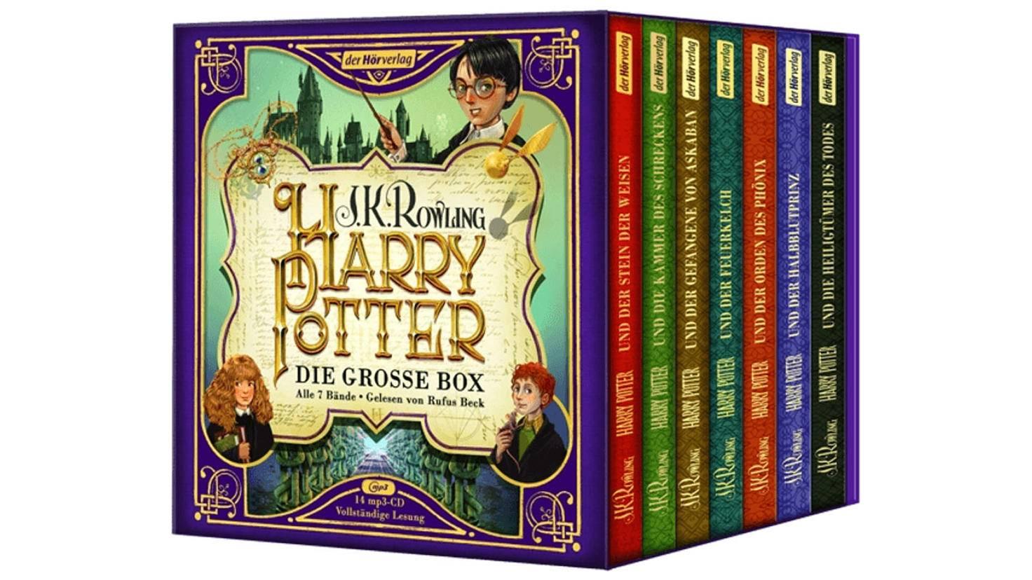 Harry Potter Hörbuch CD-Box