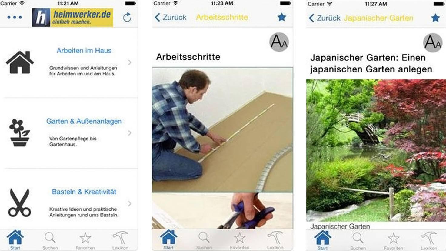 Heimwerker-de App-iTunes-Marketing Factory Consulting GmbH
