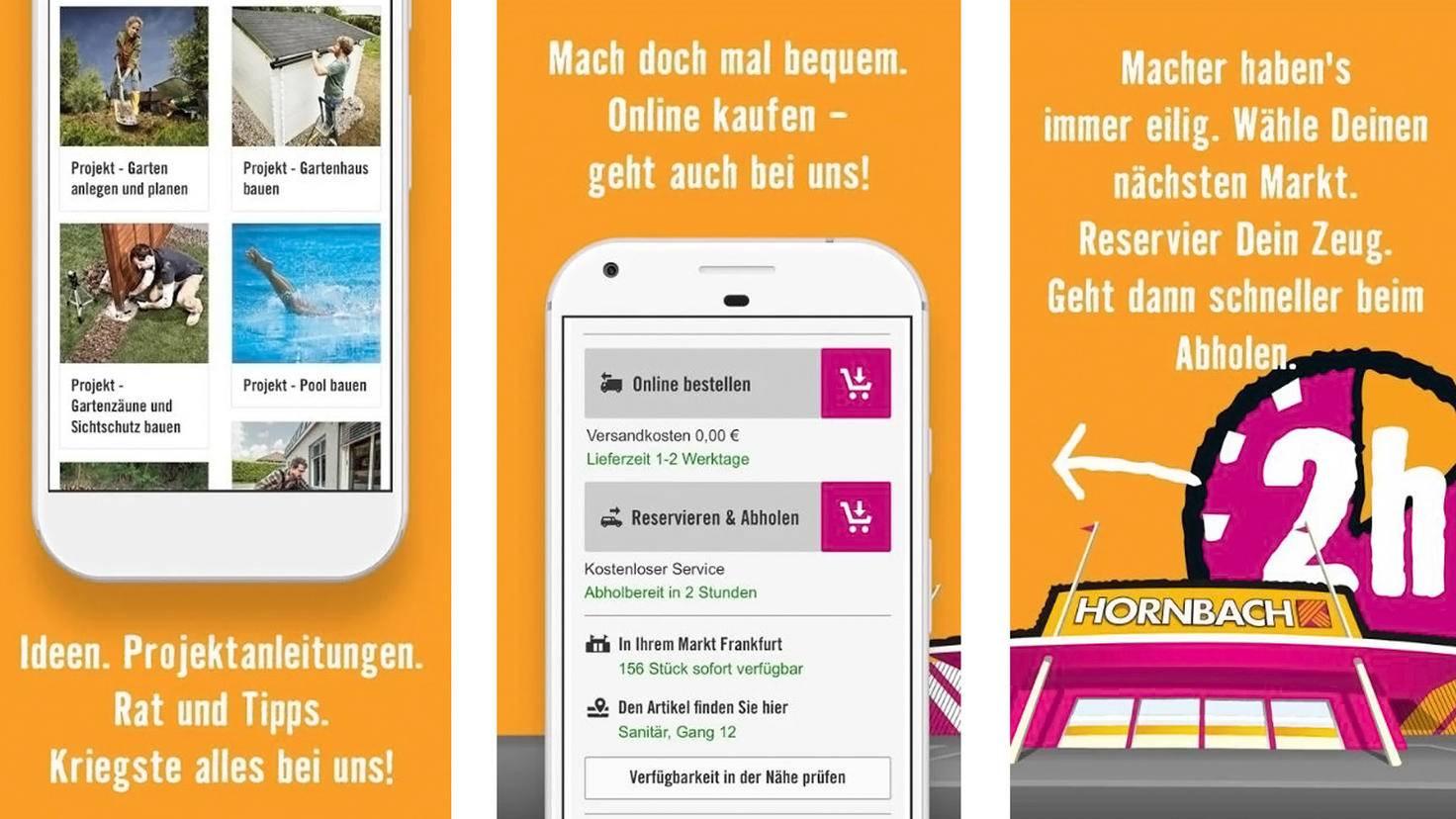 Hornbach App-Google PlayStore-Hornbach Baumarkt AG