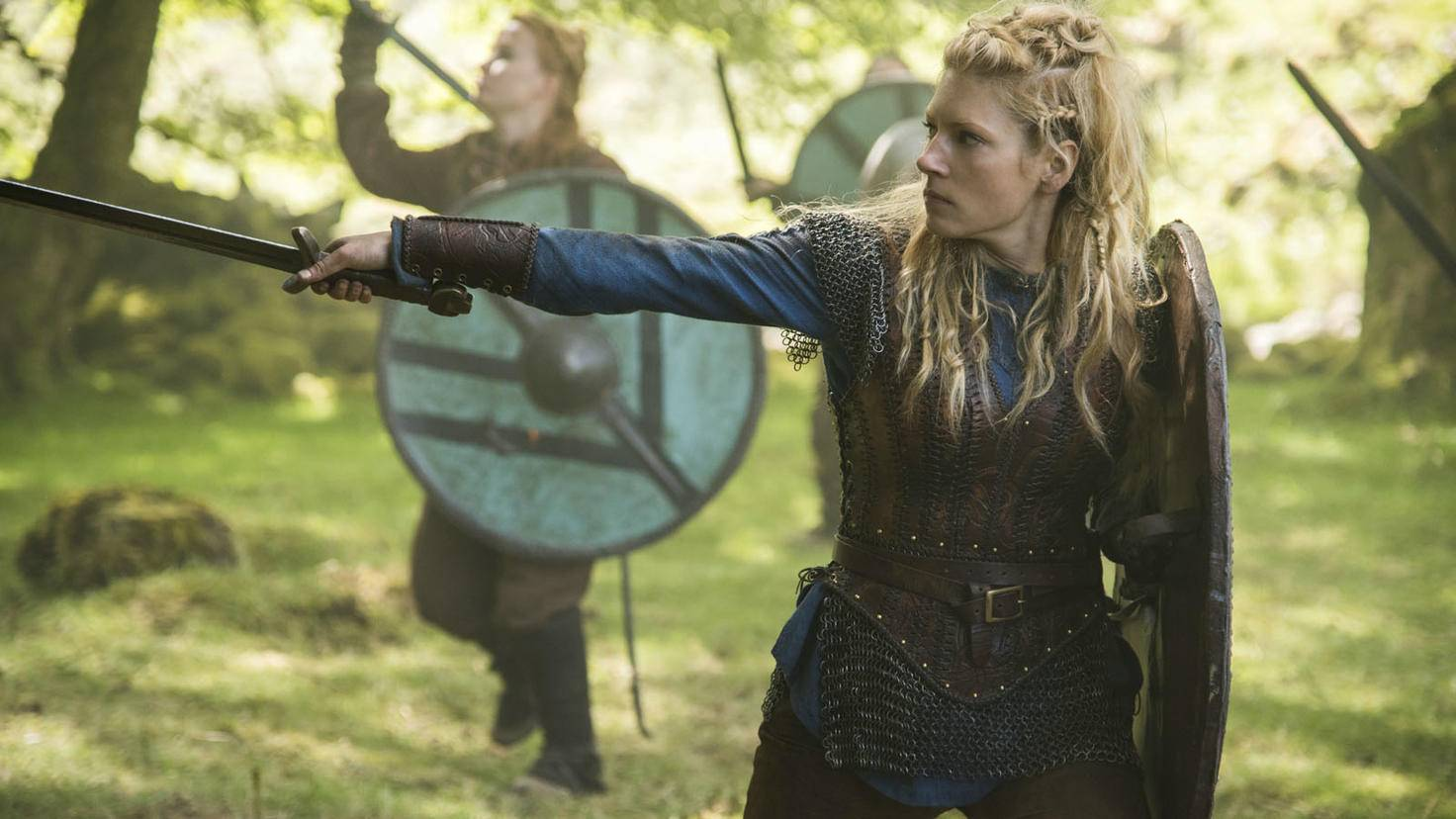 Katheryn Winnick als Lagertha in Vikings