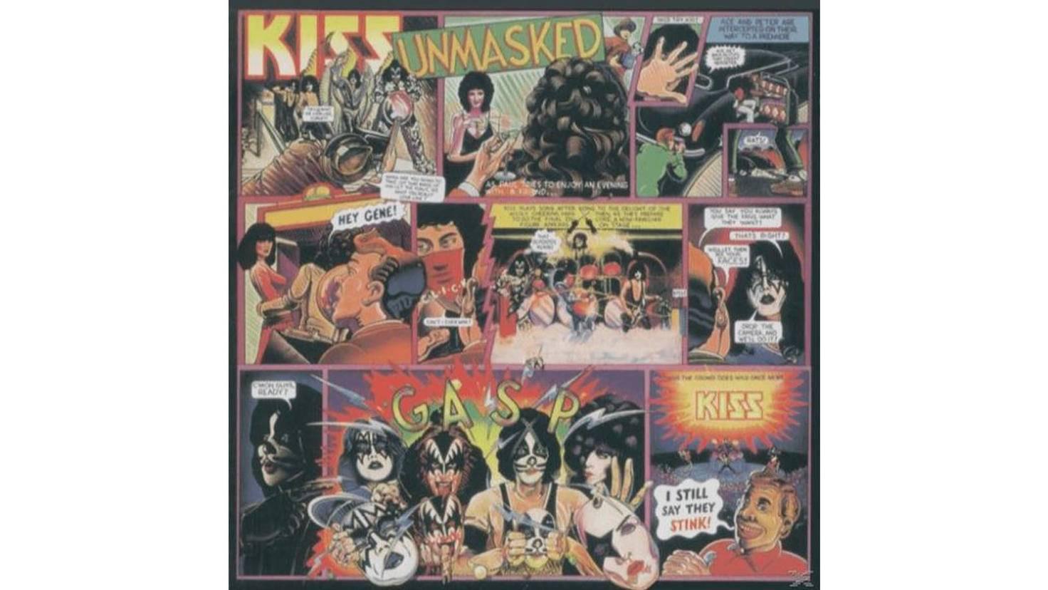 Kiss Unmasked Vinyl