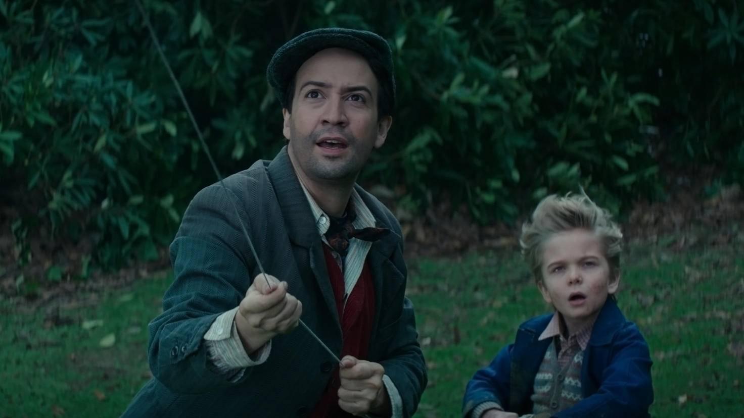 Lin-Manuel Miranda ist als Lampenanzünder Jack im Sequel am Start.