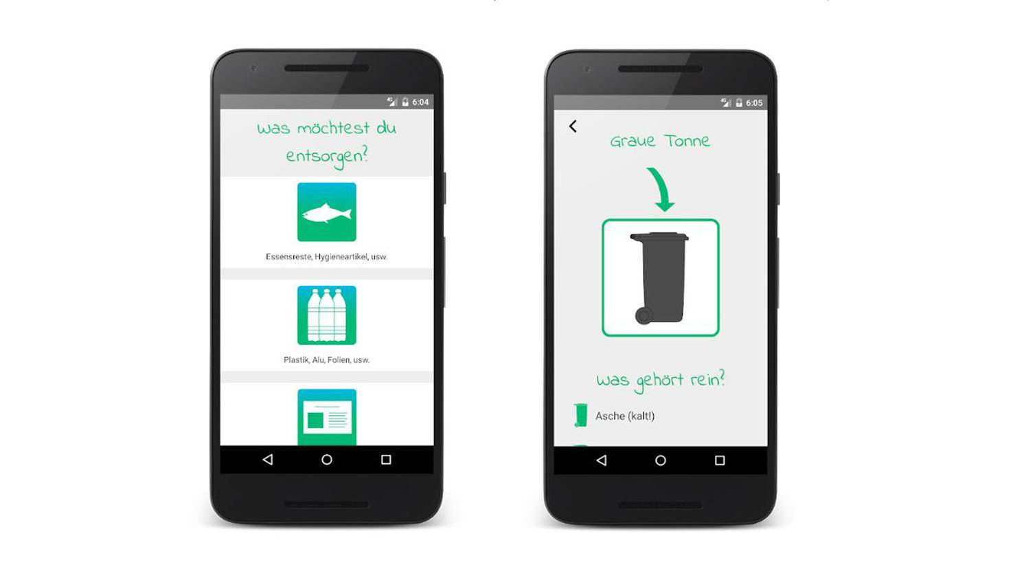 Mülltrennung App
