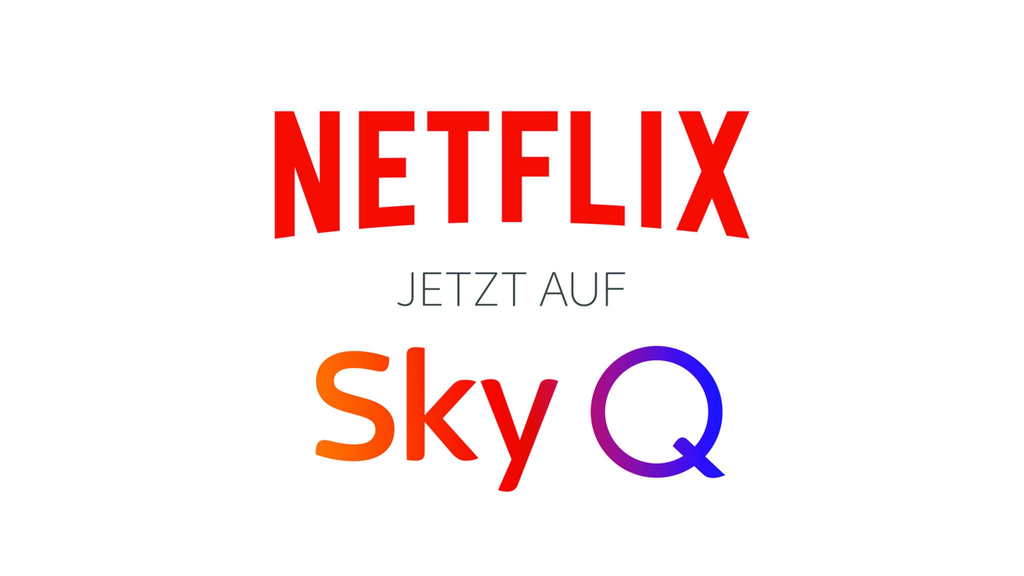 Netflix Sky Q