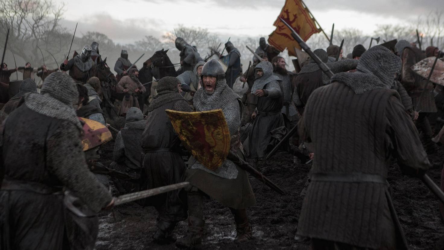 """Natürlich gibt es in """"Outlaw King"""" auch Schlachten zu sehen ..."""