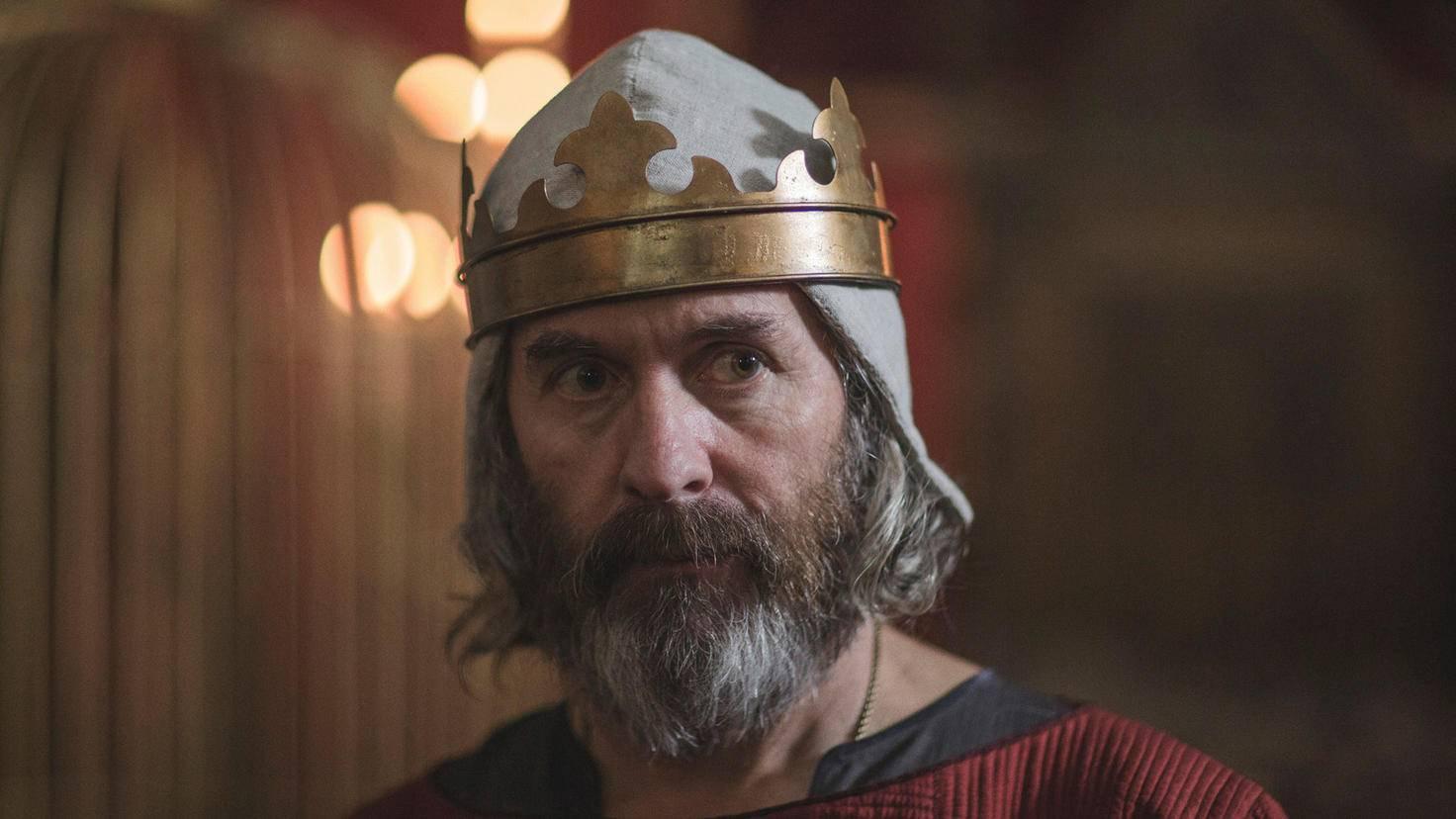 Stephen Dillane spielt König Edward I.