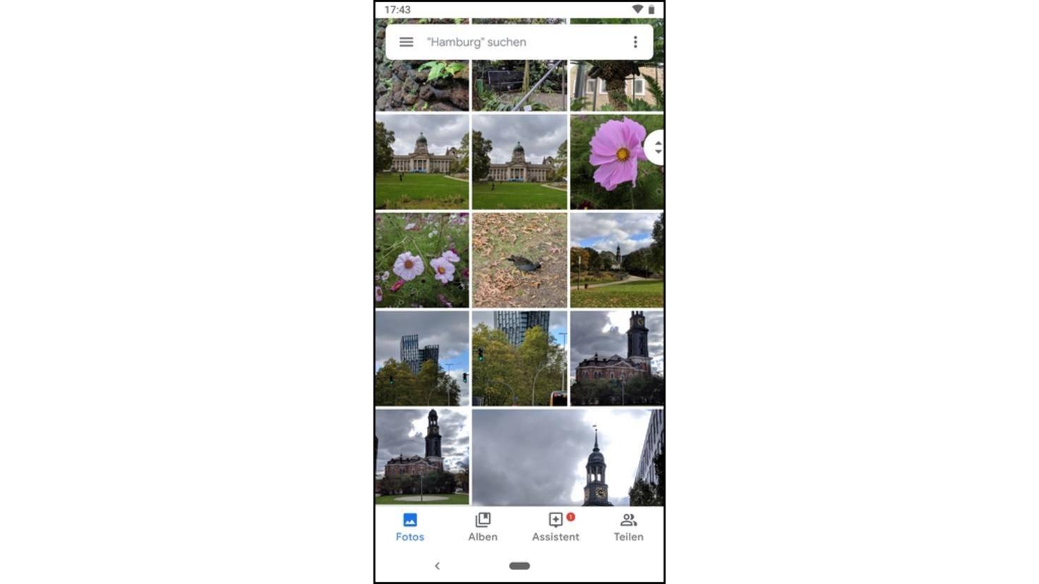 Pixel3-Fotogalerie