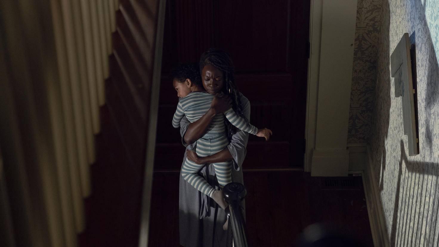 The Walking Dead-S09E06-Michonne-RJ-Gene Page-AMC