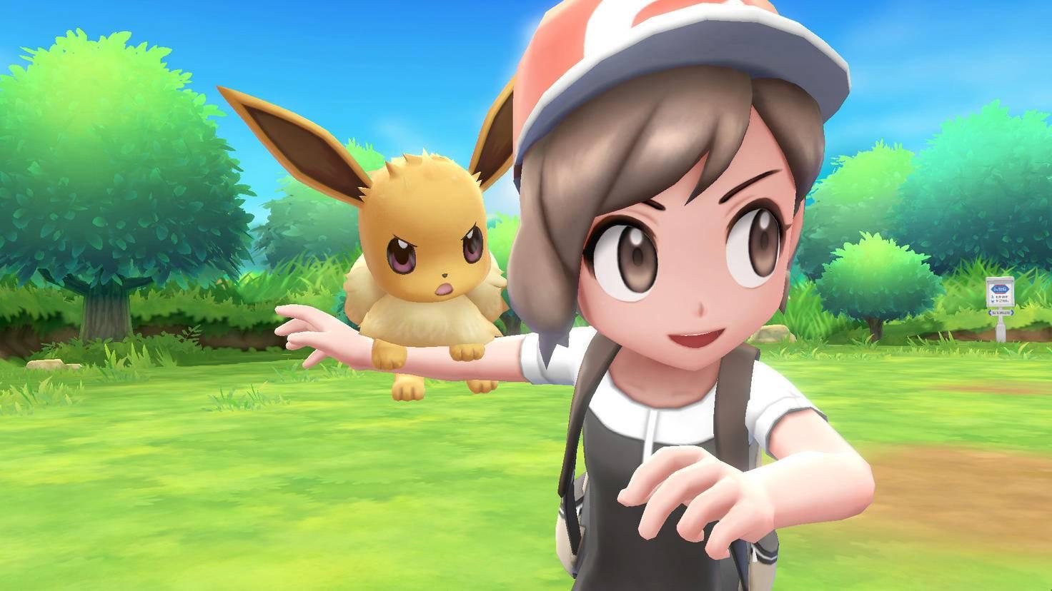 """Evoli kannst Du auch in """"Pokémon Let's Go Pikachu"""" bekommen."""