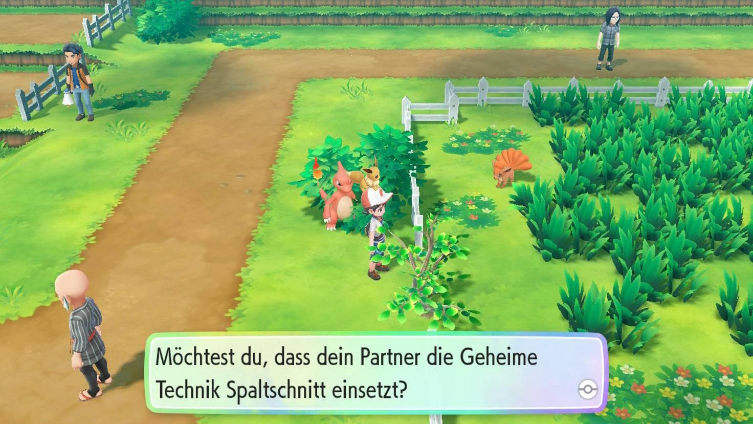 Wichtige Fähigkeiten wie Zerschneider (neuer Name: Spaltschnitt) sind nun nicht mehr an ein Pokémon gebunden.