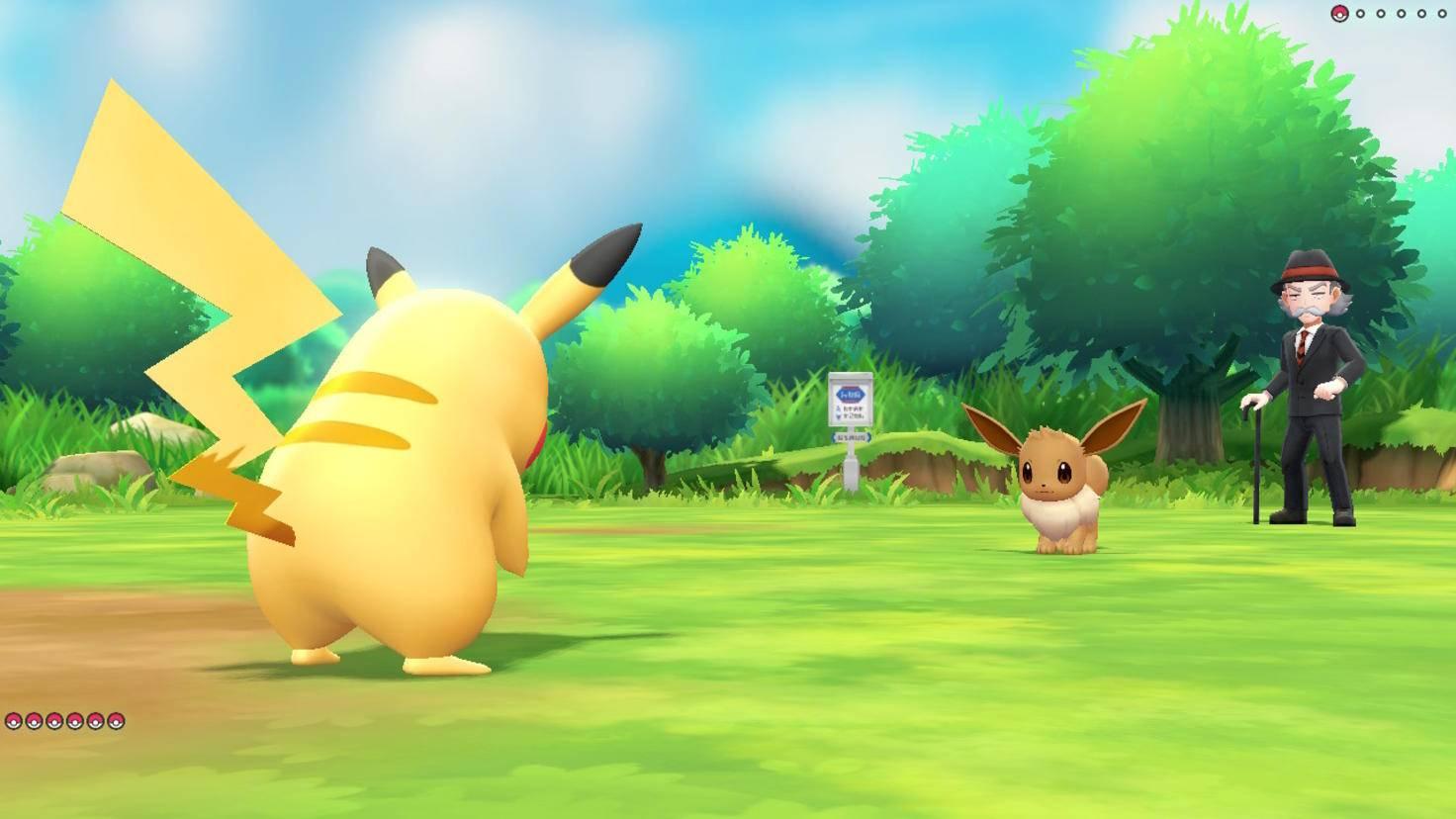 Pikachu und Evoli sind die putzigen Maskottchen der neuen Games.