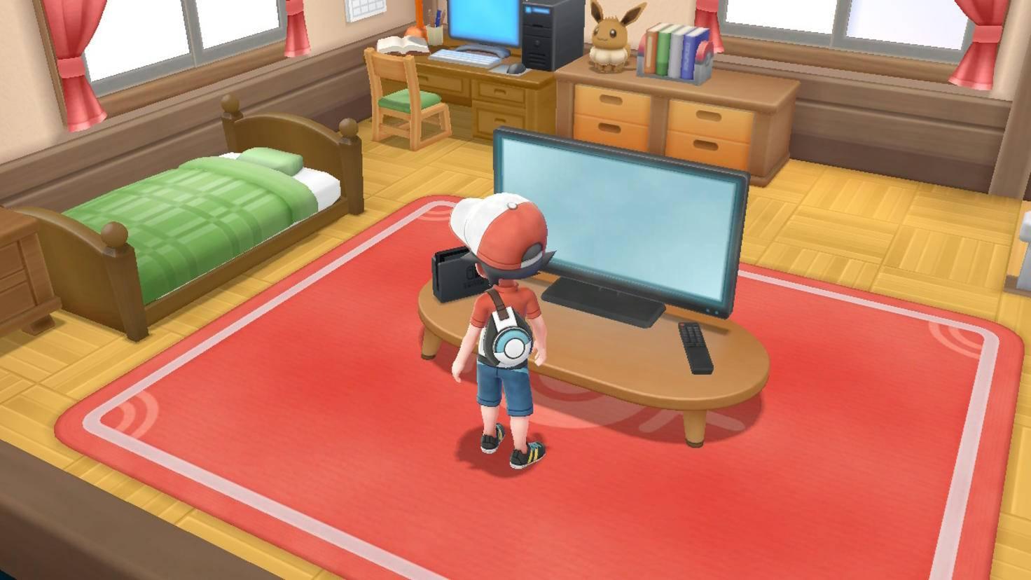 Durch einen ungewohnt großen Bildschirm geht's in die Welt der Pokémon, ...