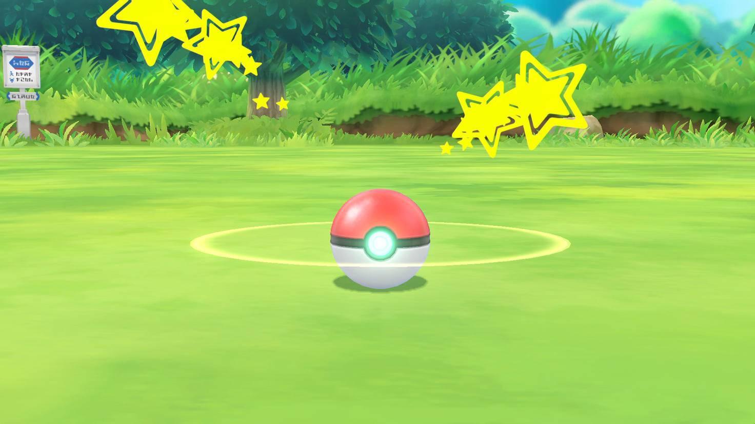 """""""Schnapp sie Dir alle!"""" ist auch bei """"Pokémon Let's Go"""" wieder die klassische Losung der Monster-Serie."""
