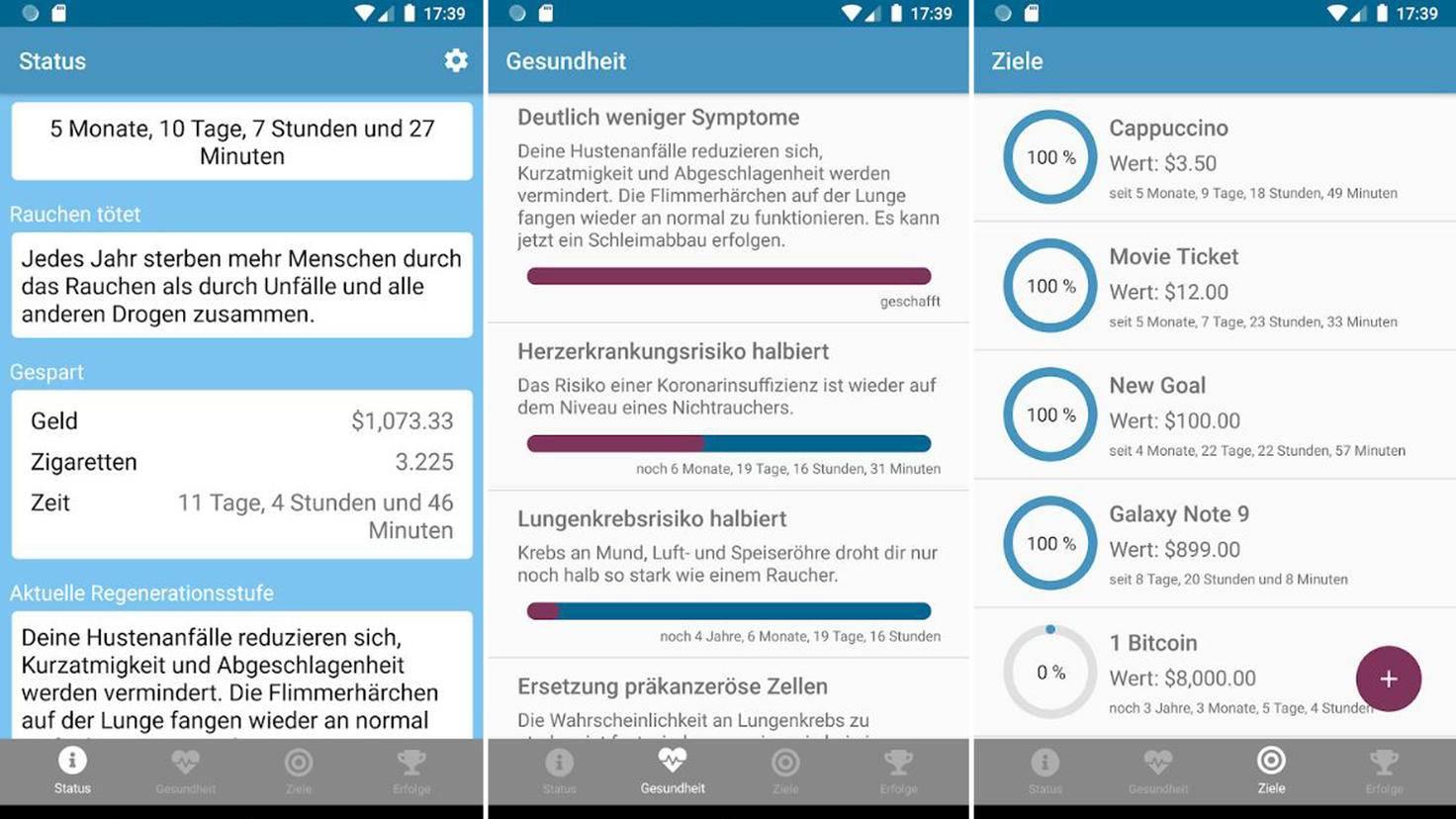 rauchfrei app