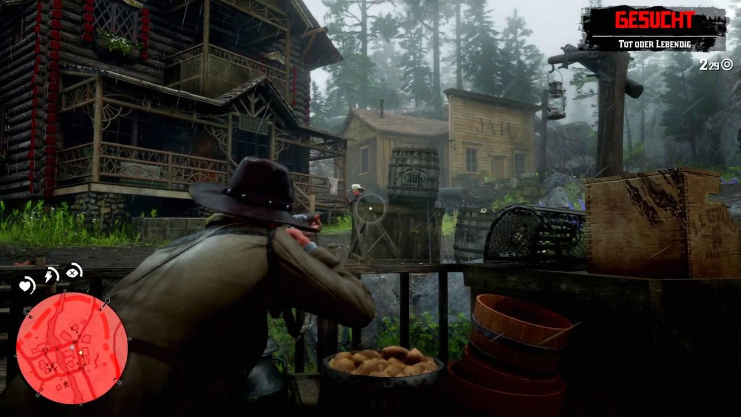 """In """"Red Dead Redemption 2"""" ist gute Deckung wichtig."""