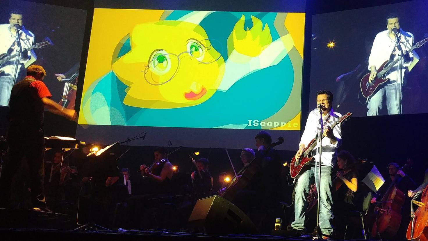 """Voller Einsatz: Tommy Tallarico mit """"Video Games Live"""" in Hamburg"""