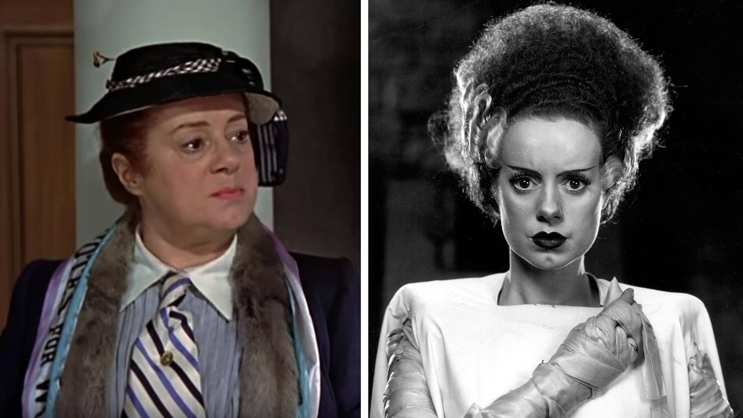 Bride of Frankenstein-Elsa Lanchester-picture alliance-Everett Collection-93128544-Mariy Poppins-Katie Nanna-Elsa Lanchester-Youtube-Disney FR