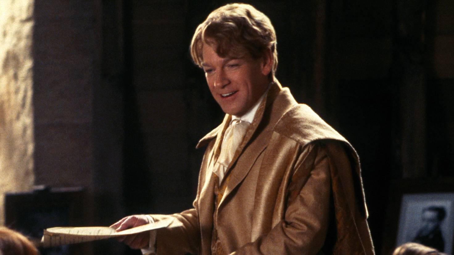 Harry Potter Kenneth Branagh Gilderoy Lockhart