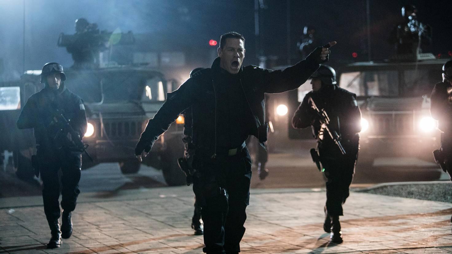 John Cena als Agent Burns in Bumblebee