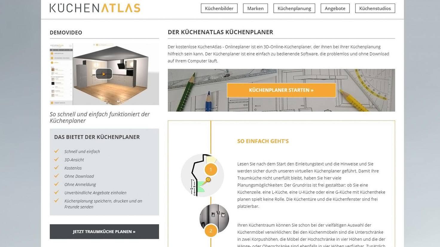 Küchen-Atlas Küchenplaner-Küchen-Atlas