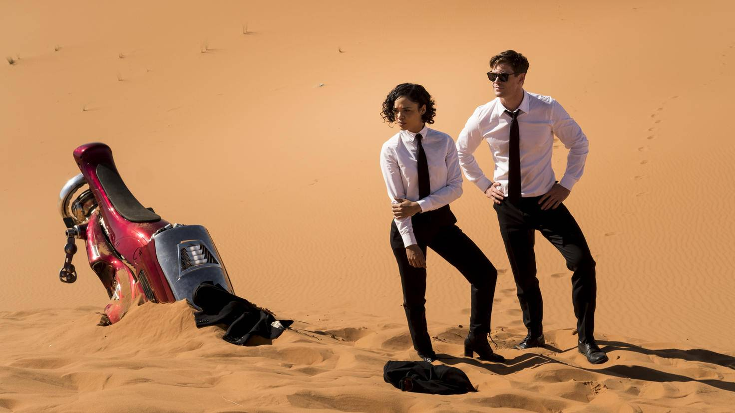 Men in Black International-Chris Hemsworth-Tessa Thompson-Sony Pictures Entertainment