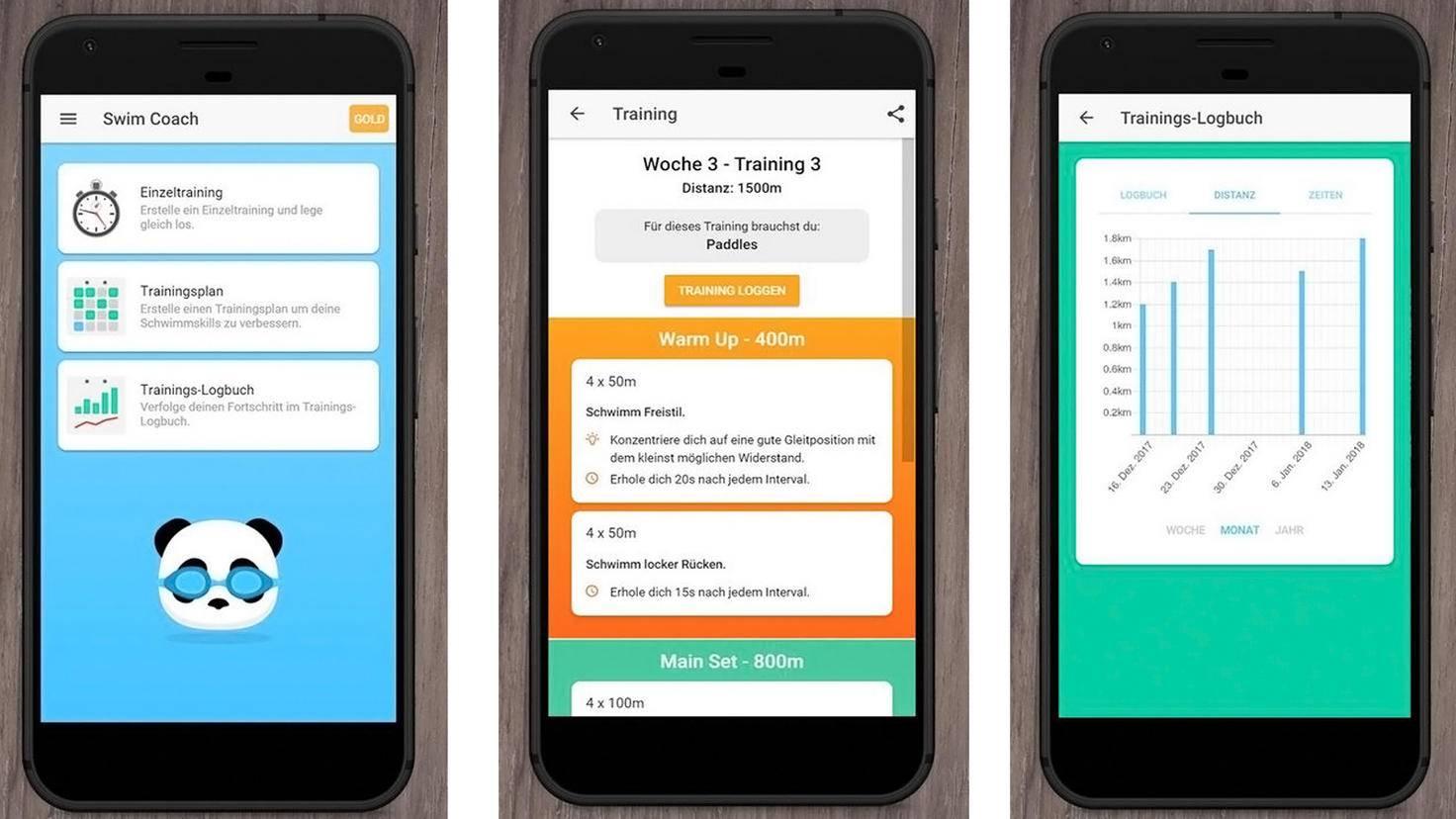 Swim Coach-App-Google Play Store-Reto Kaul