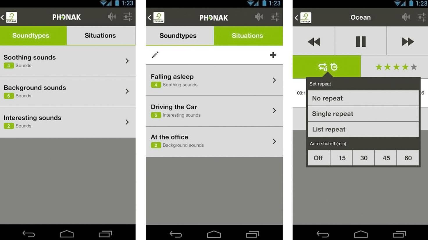 Tinnitus Balance App-Google Play Store-Phonak