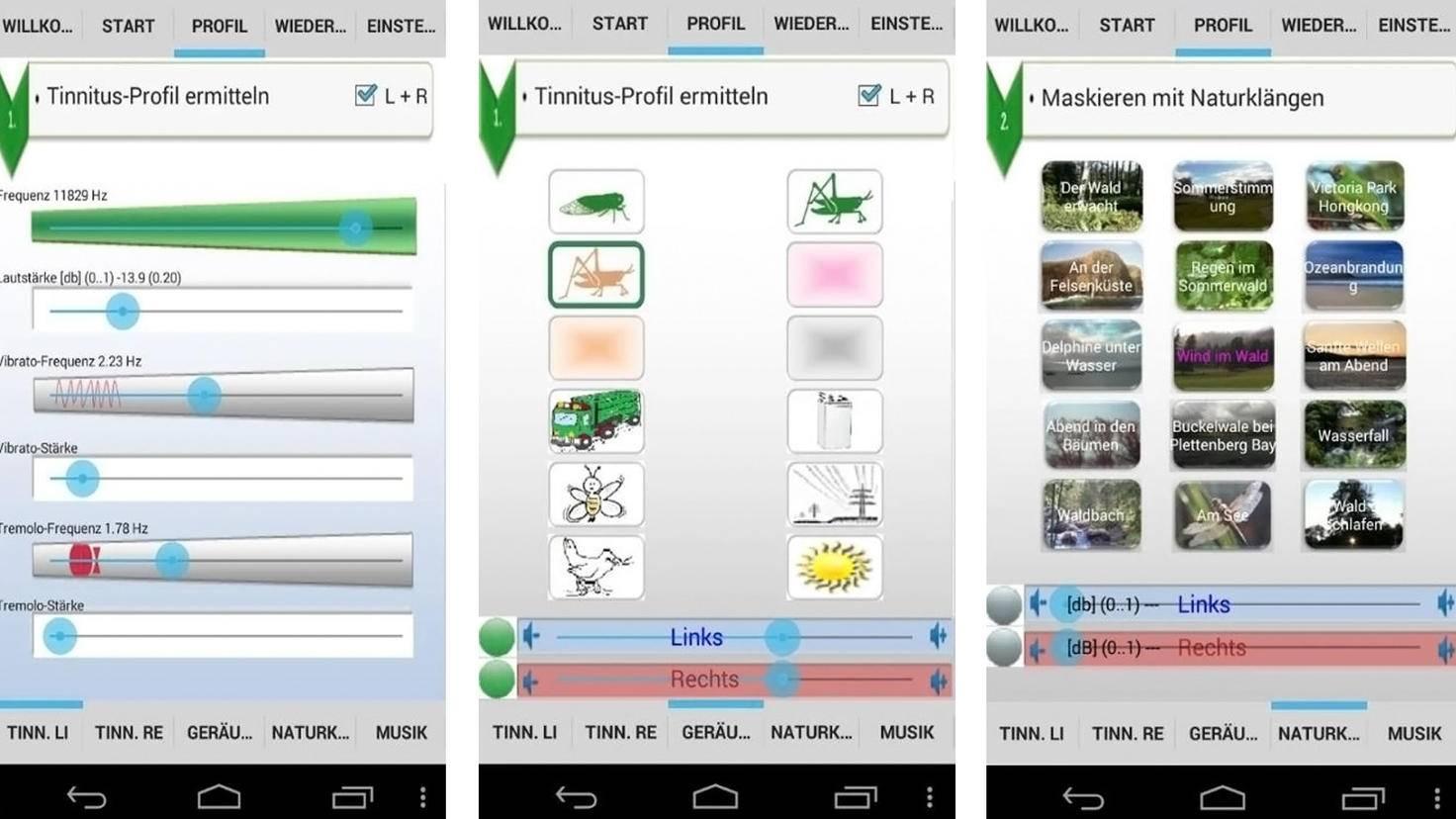 Tinnitus help-Google Play Store-IND-Ingenieurbuero f Nachrichten- u Datentechnik