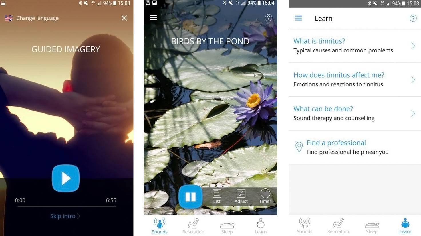Widex Zen Tinnitus App-Google Play Store-Widex AS