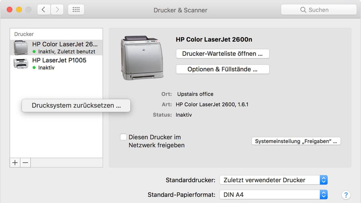 mac-drucker