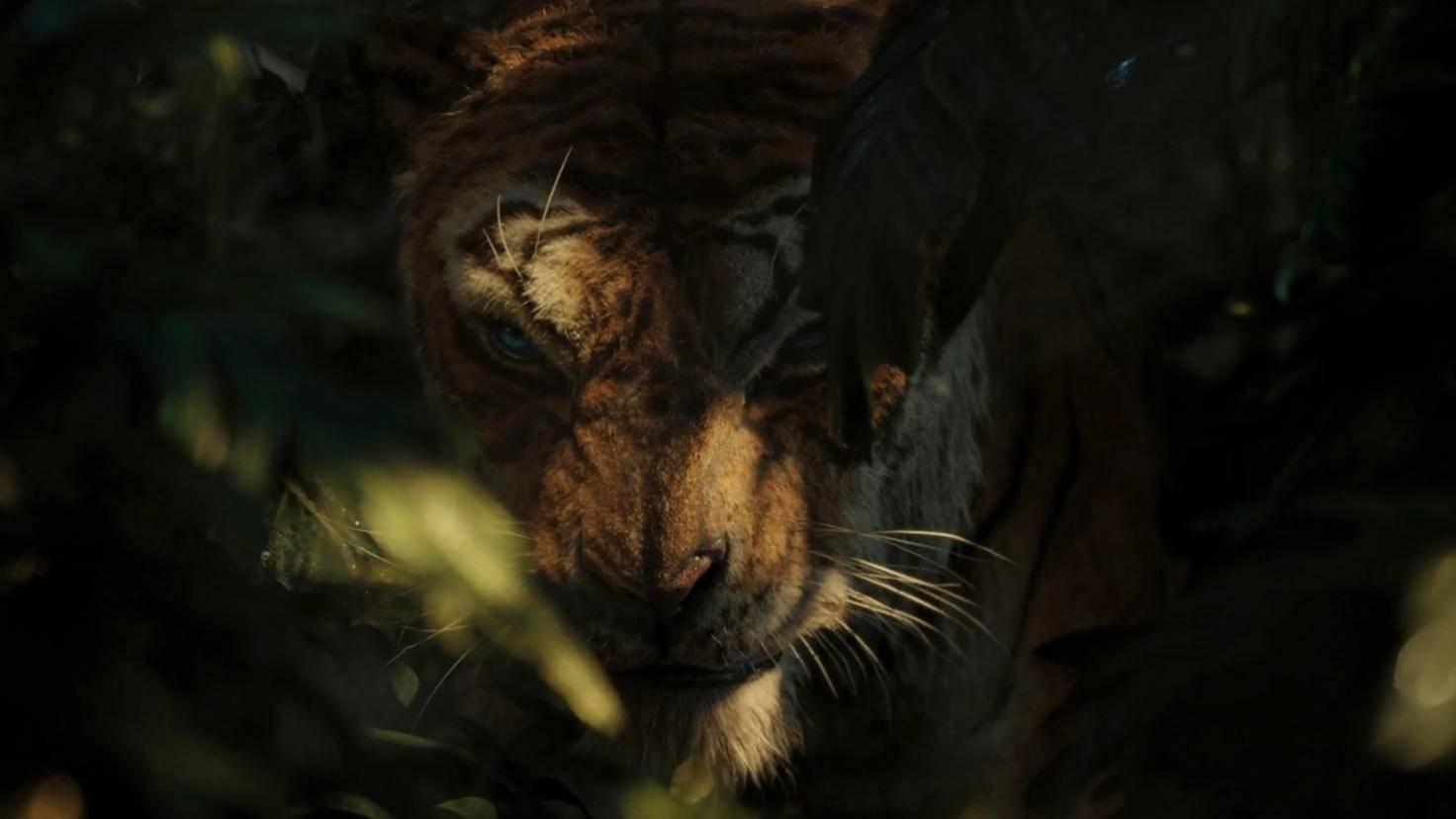 ... der Tiger Shir Khan wirken wie seltsame Zwitterwesen aus Tier und Mensch.