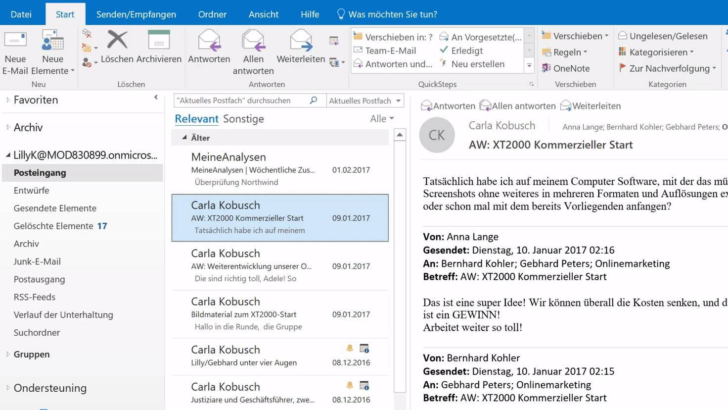 office-2019-outlook-relevant-ansicht