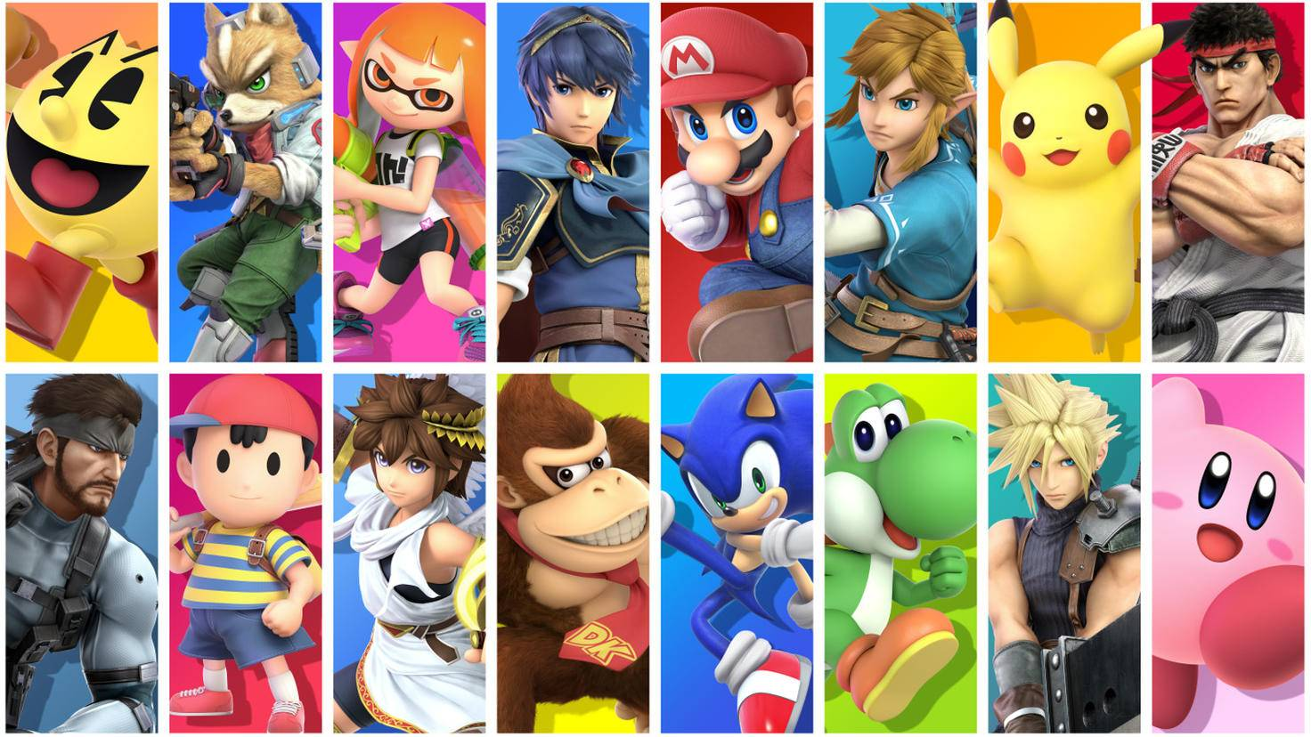 """Diese Helden sind nur ein kleiner Ausschnitt aus der gesamten Kämpfer-Riege in """"Super Smash Bros. Ultimate""""."""