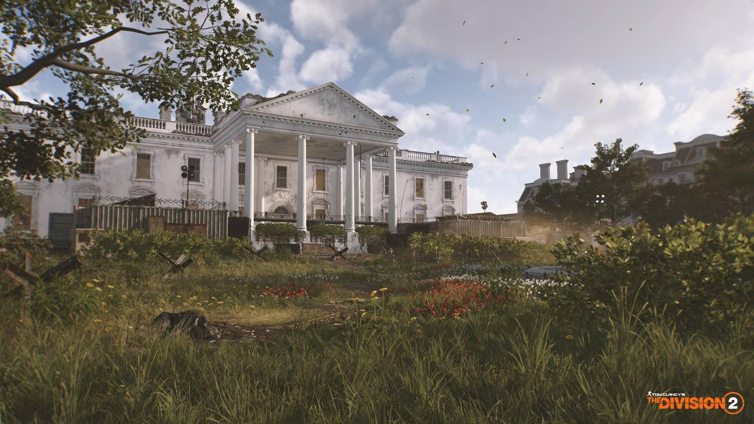 Das Weiße Haus in Washington ist die Einsatzzentrale Deines Clans.
