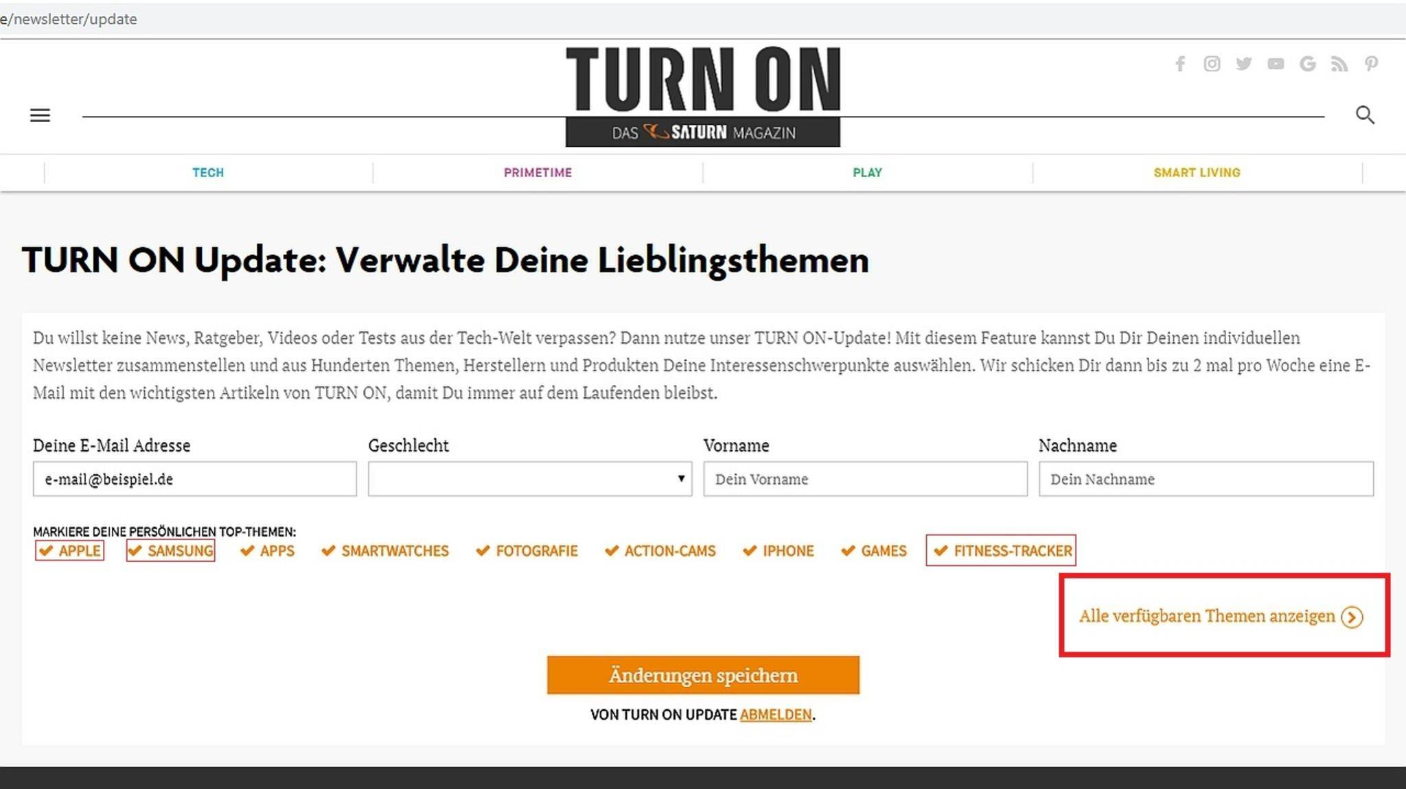 turn-on-update-newsletter-2-landingpage