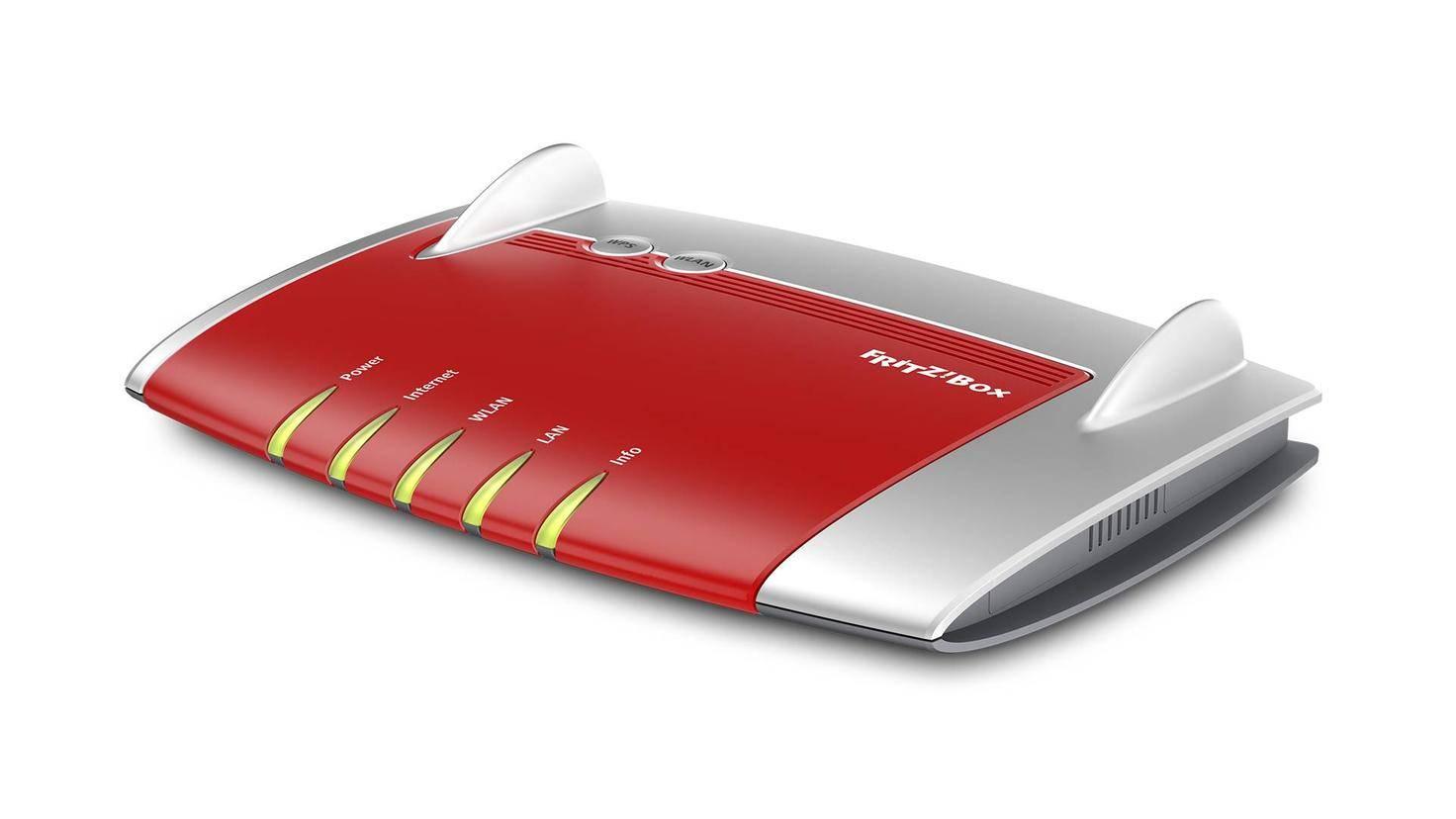 Die Fritzbox 4040 unterstützt Dual-Band-WLAN, jedoch nicht die schnellsten Geschwindigkeiten.