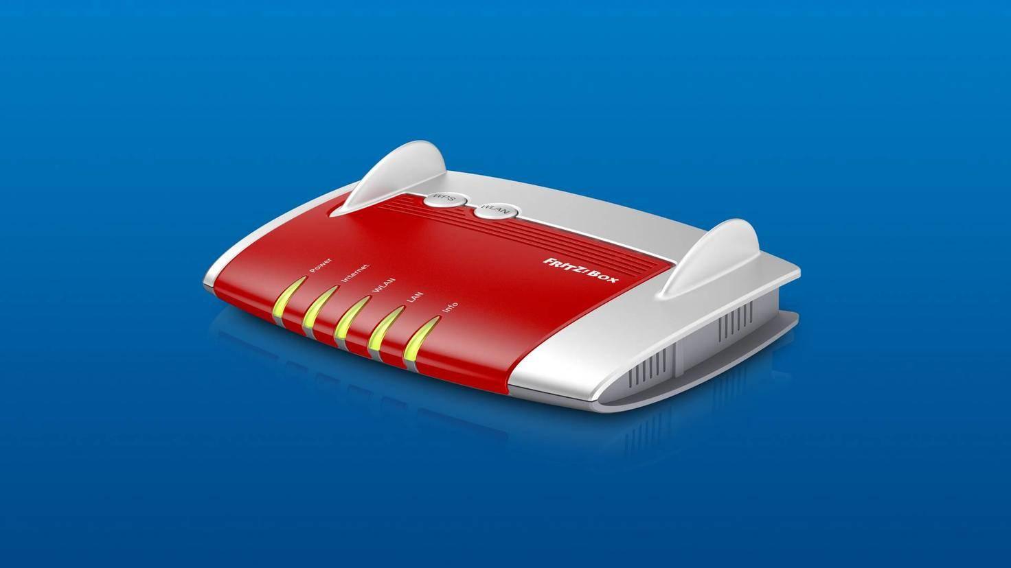 Bei der Fritzbox 4020 wird nur das 2,4-GHz-Band unterstützt.