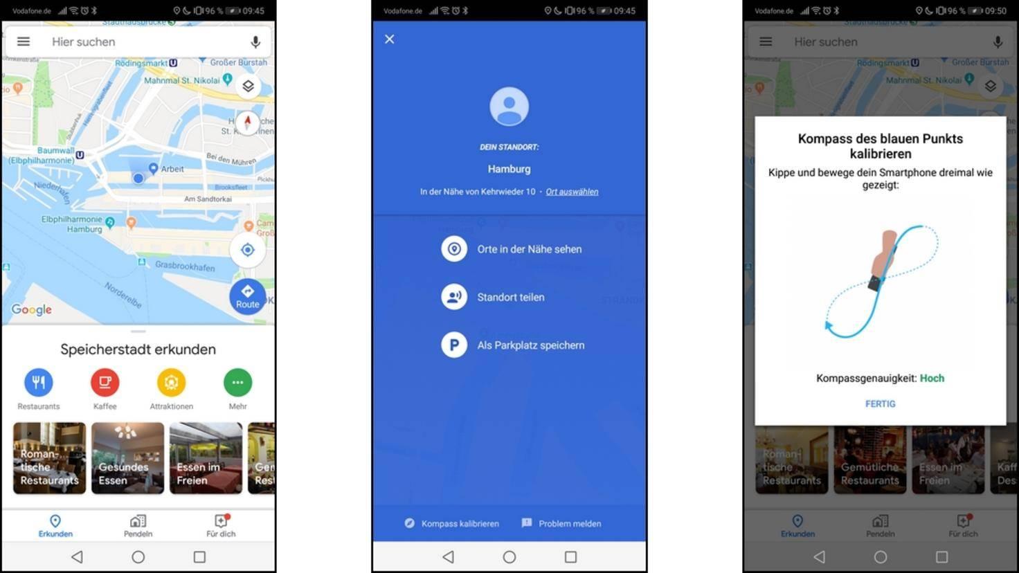 Android-Komp kalibrieren: Mit dieser Anleitung gelingt es on