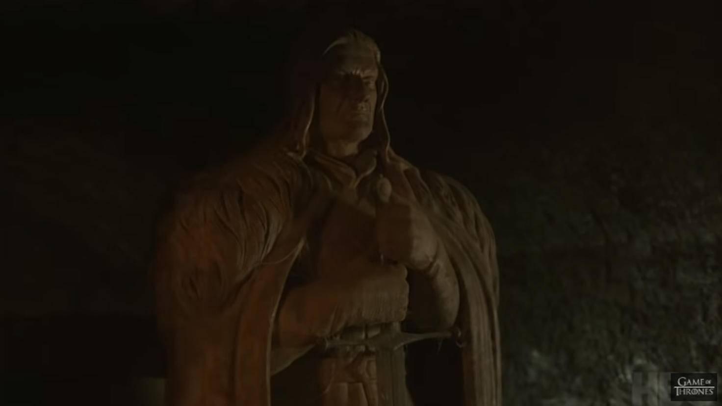 Alles andere als vergessen: Ned Stark in der Krypta von Winterfell.