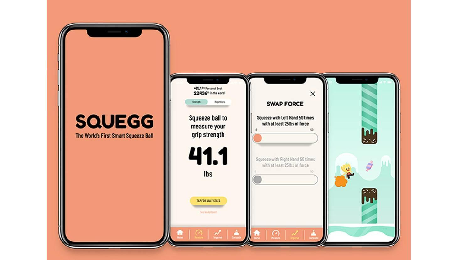 Smarter Stressball Squegg App