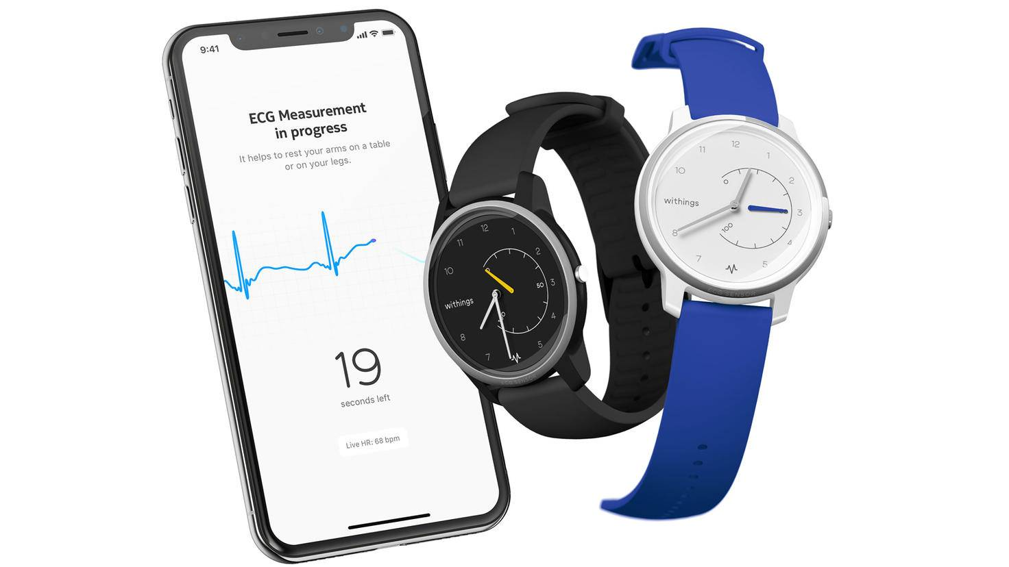 Smartwatch Withings Move ECG