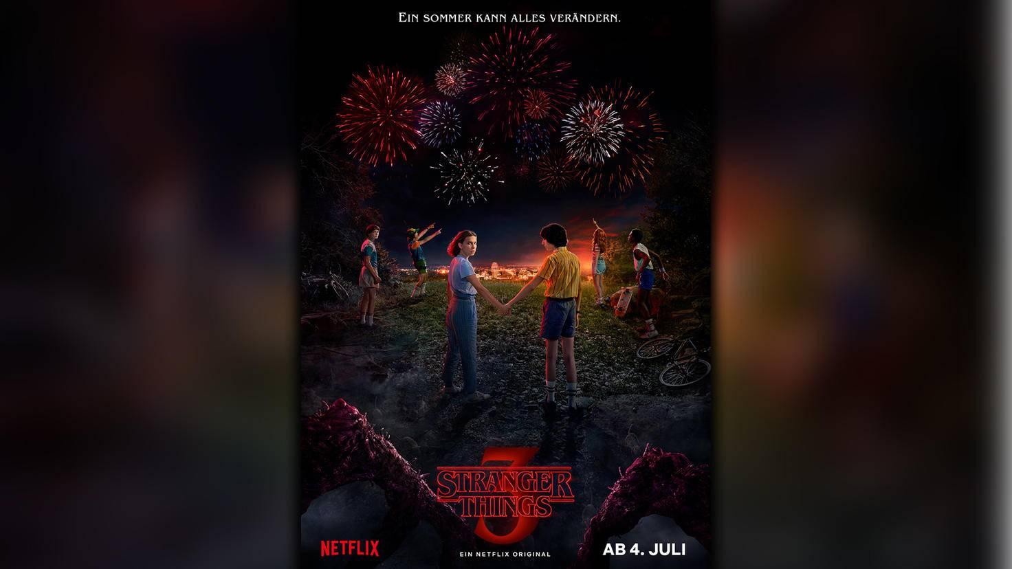 Stranger Things-Staffel 3-Poster-Netflix