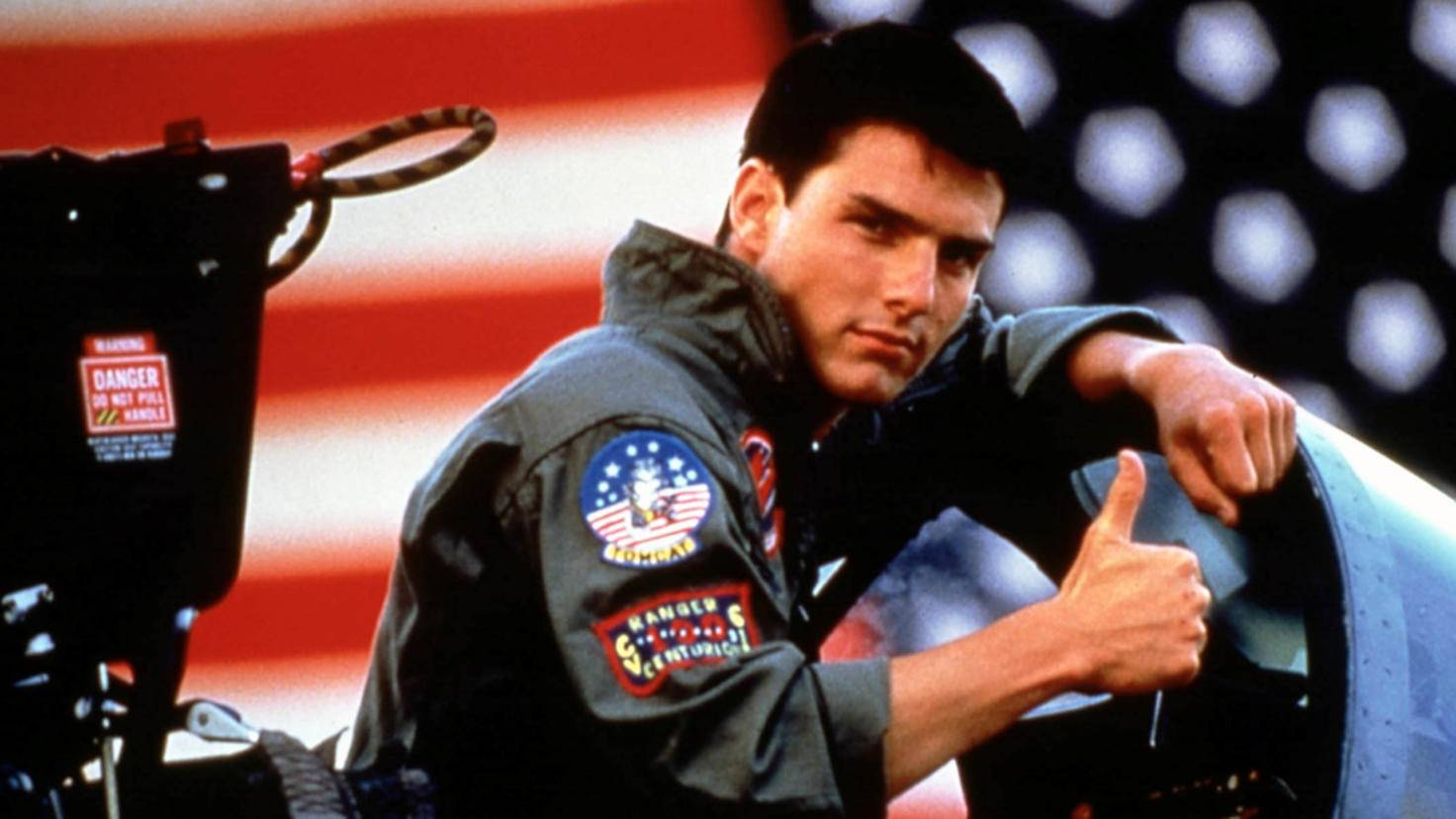 Tom Cruise-Top Gun-picture alliance-Mary Evans Picture Library-18708205