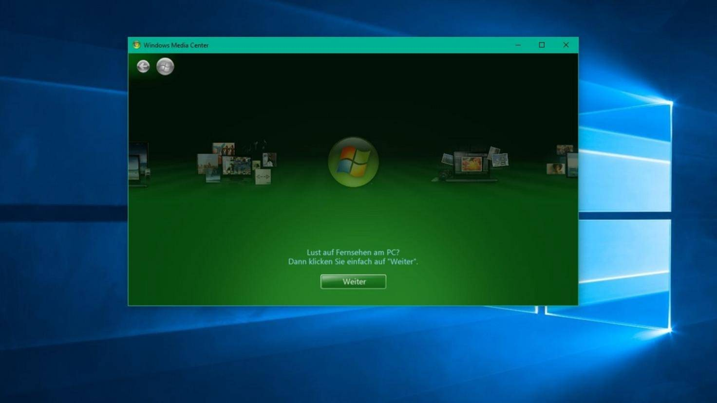 Nach der Installation kannst Du die Software unter Windows 10 starten.